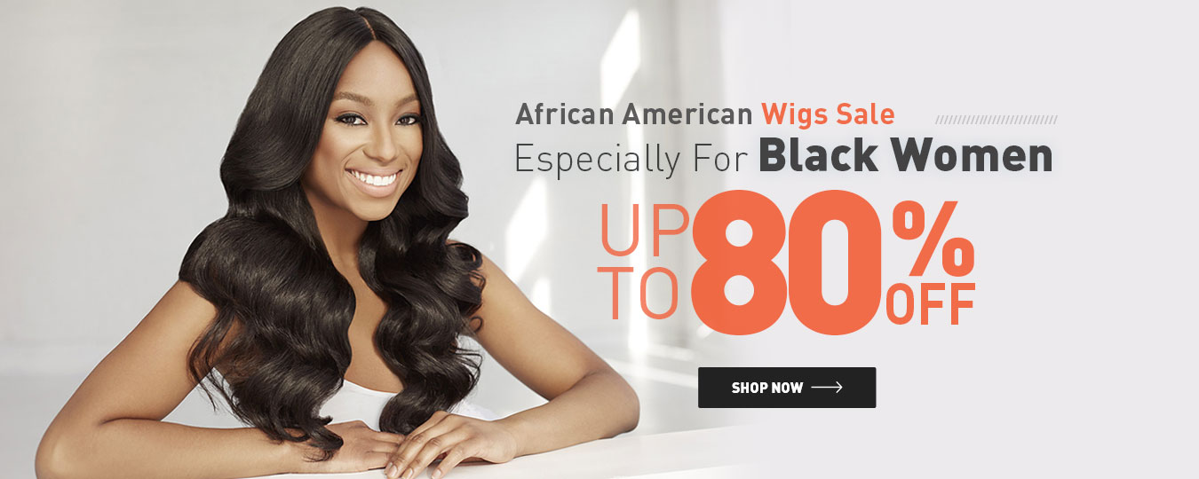 African American Wigs Sale Especially For Black Women Up to 80% Off