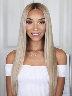 "18"" Yaki Straight 360 Lace Wigs"