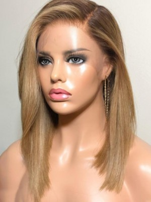 Long Straight 360 Lace Human Hair Wig