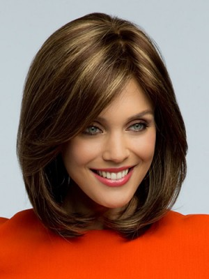 Classic Synthetic Capless Straight Wig