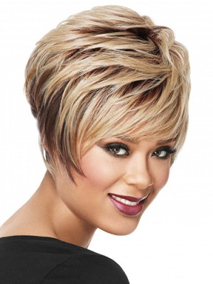 Brilliant Straight Capless Synthetic Wig