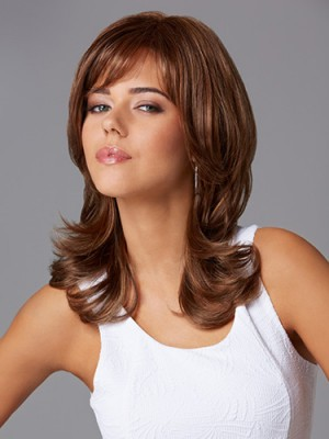 Elegant Synthetic Long Wavy Capless Wig