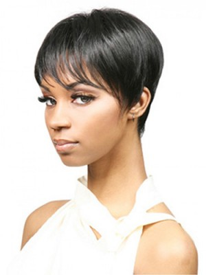 Brilliant Short Straight Synthetic Wig