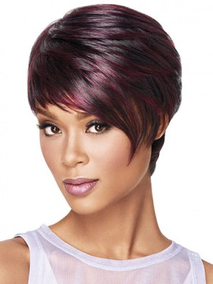 Amazing Straight Capless Synthetic Wig