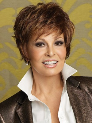 Chic Short Wavy Capless Synthetic wig