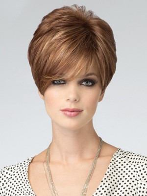 Charming Synthetic Straight Capless Wig