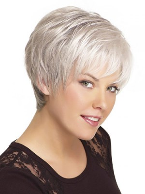 Chic Straight Short Boycuts Wig