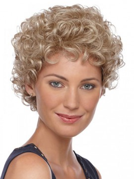 Graceful Short Length Curly Synthetic Wig