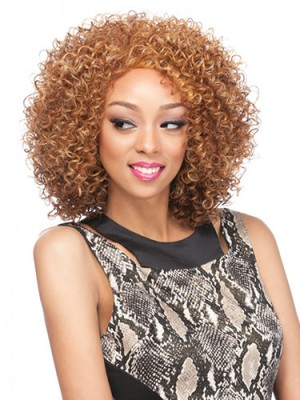 Affordable Curly Capless Synthetic Wig