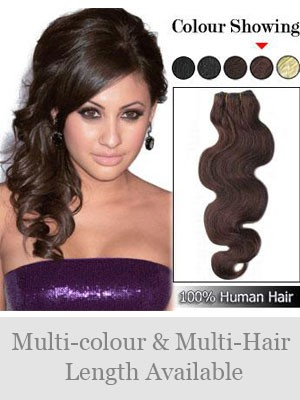 """60"""" Wide Wavy Full Head Extensions"""