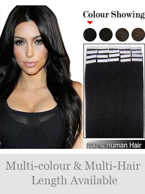 "16"" 20pcs Remy Hair Tape in Extensions"
