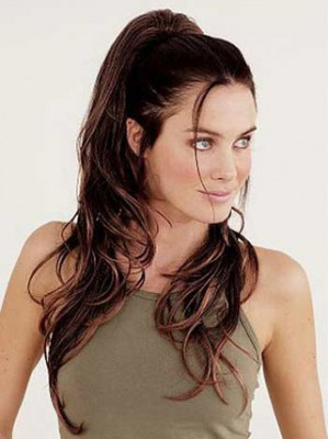 Chopped Layers With Clip Attachment Synthetic Ponytail