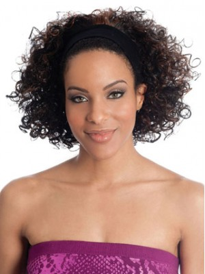 HB-1970 Curly Bob Hairpiece