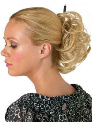 "4"" Scrunchie Style Synthetic Wrap"