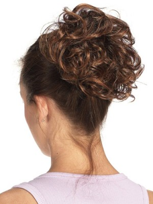 Claw Clip Curly Synthetic Wrap