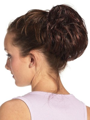 Soft Wavy Synthetic Wrap With Claw Clip