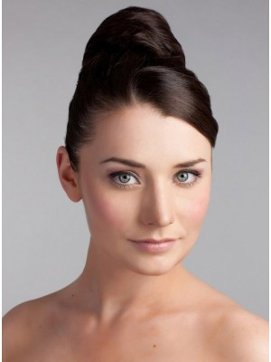 Classic Synthetic Bun With Pressure Clip