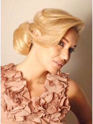 Short Classic Style Synthetic Bun