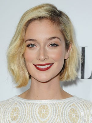 Caitlin FitzGerald hairstyle Modern Lace Front Wig Bob