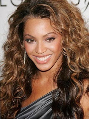 Beyonce Long Wavy Full lace human hair wig