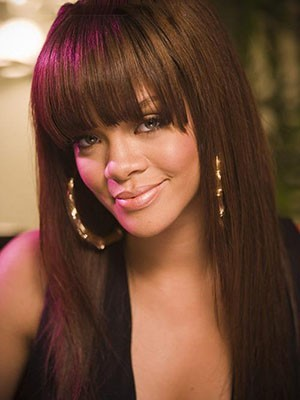 Rihanna Straight Lace Front Mono Top Human Hair Wig