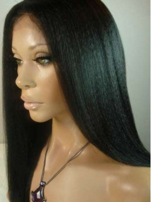 Fashion Straight U Part Lace Front Wig
