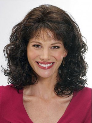 """12"""" Curly Capless Remy Human Hair Wig"""