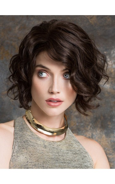10 Inch Curly Affordable Remy Human Hair Bob Wigs