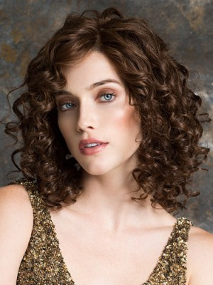 12 Inch Curly Exquisite Remy Human Hair Wigs