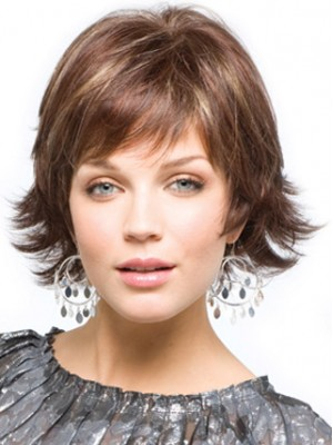 Chin-Length Bob Synthetic Wig