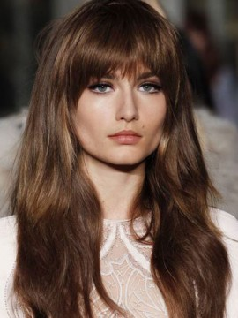 Amazing With Bangs Blonde Capless Wigs