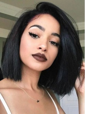 Bob Style Lace Front Human Hair Wig