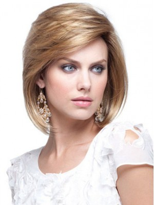 Short Straight Pretty Human Hair Bob Wig