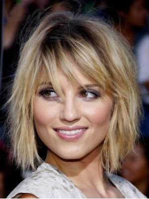 Latest Arrival Short Blonde Straight Remy Human Hair Caples