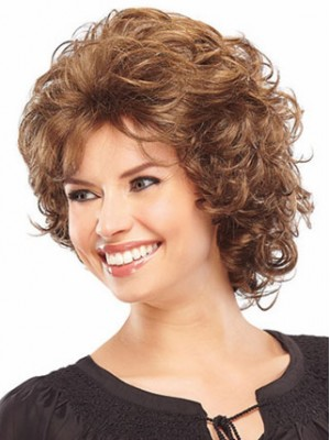 Synthetic Curly Classic Wig