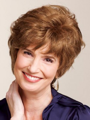 Beautiful Short Curly Capless Human Hair Wig