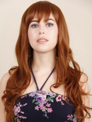 Full lace Long Human Hair Wig