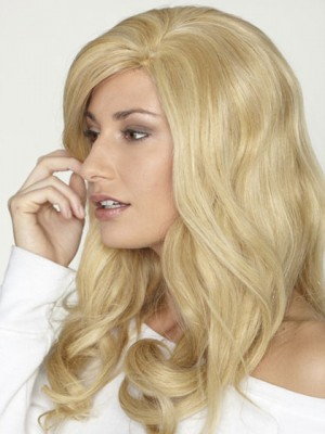 Long Curly Lace Front Human Hair Wig