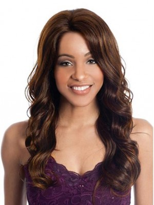 "24"" Layered Loose Body Wavy Wig"