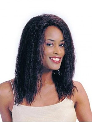 Attactive Long Curly Human Hair wig
