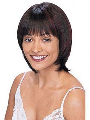 Chic Straight Short Human Hair Wig