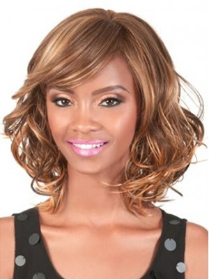 Charming Huamn Medium Wig