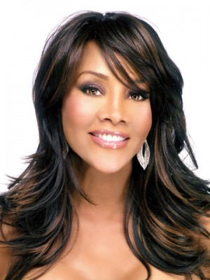 Long Natural Straight Synthetic Wig