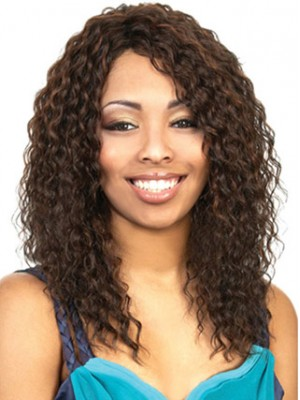 Long Layered Curly Synthetic Wig