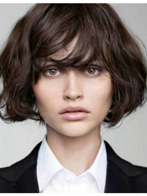 Most Popular Brown Short Remy Human Hair Wig