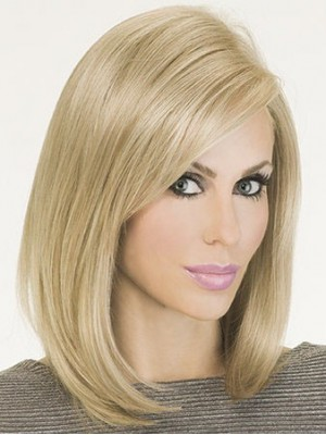 Graceful Silky Straight Monofilament Bob Wig