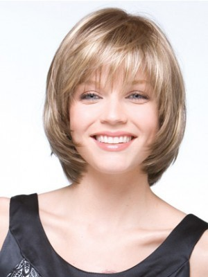 Bob Style A Variety of Multi-tonal Shades Gray Wig