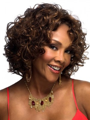 Loose Curl Synthetic Front Lace Wig