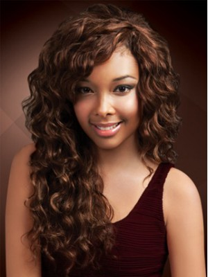Natural Bounce and Luster Lace Front Wig