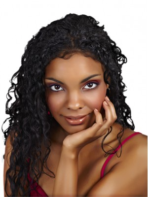 Natural Bounce and Luster Synthetic Wig